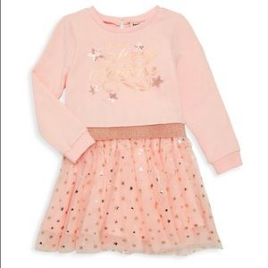 NWT Juicy Couture pink star sweater dress